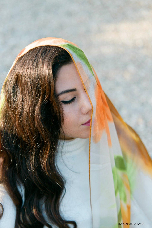 Merve, autumn Portrait, Bodrum, Turkey
