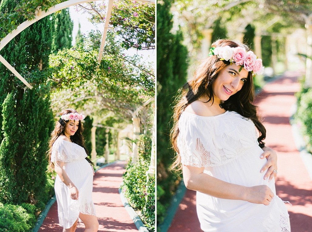 Sinem twin maternity photo session in Sianji resort and spa hotel