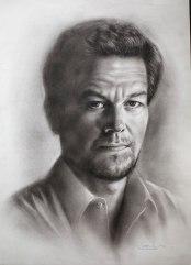Beispiel 2 Porträt trockener Pinsel