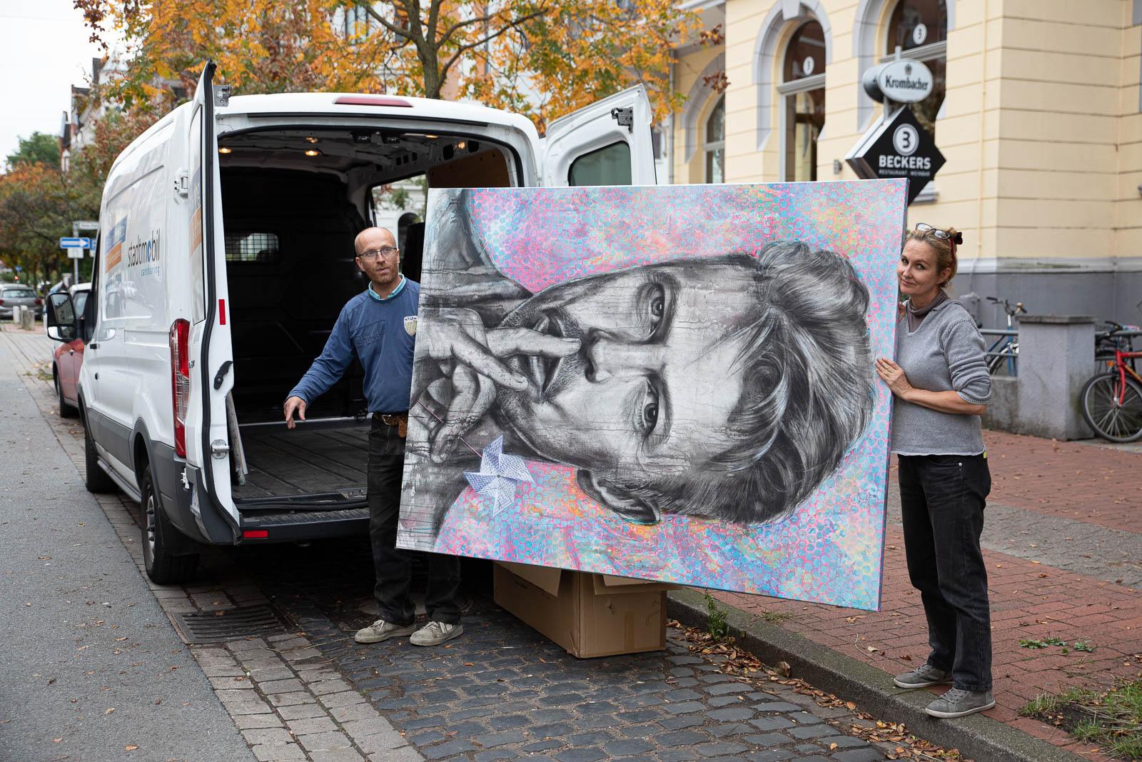 Inga Mihailovic: Meine großen Bilder auf dem Weg zu SpektaColor#1