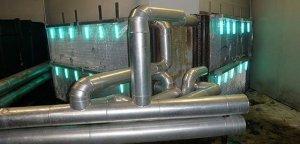Rayos ultravioleta C en sistemas de aire acondicionado