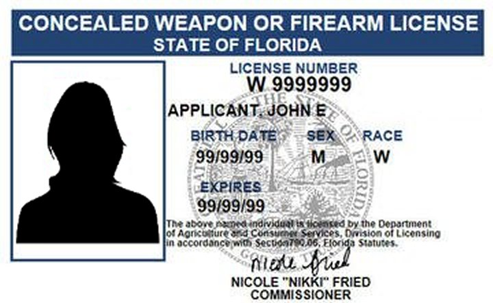Having A Concealed Carry License Is of No Benefit . . .