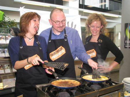 Pannenkoekenbak in Plantijn