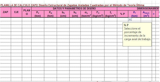 Plantilla De Zapata Diseño Excel Cuadrada Aislada cLSA354Rjq
