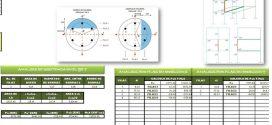 Plantilla Excel – Análisis de Columna Circular