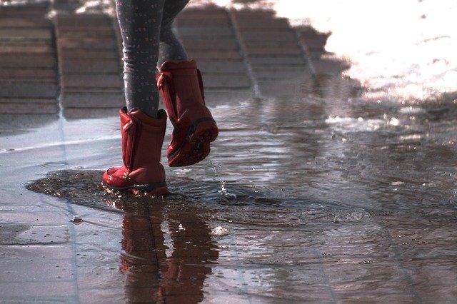 zelfzorgmomenten lekker naar buiten ook in de regen