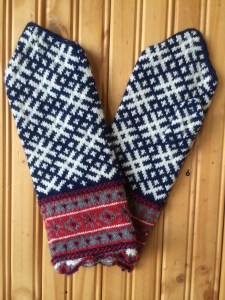 Thomson's favorite Latvian mittens