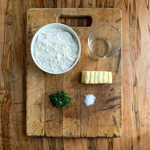 Pie ingredients