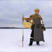Kari on Medicine Lake