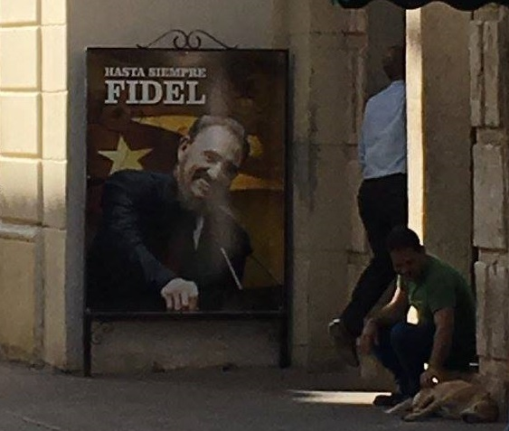 Fidel Castro, Avana