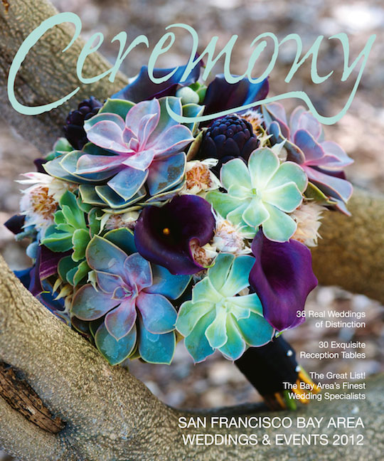 Ceremony Magazine Cover, April 2012