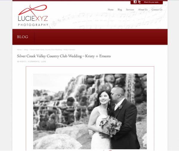 Silver Creek Valley Country Club Wedding of Kristy & Ernesto