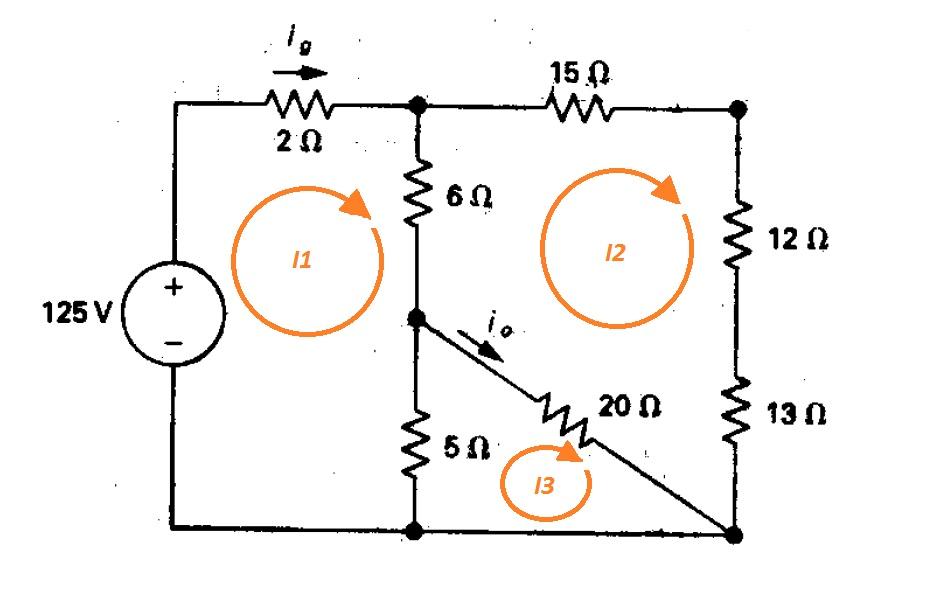 Leyes de Kirchhoff y método de mallas. Resolución de circuitos eléctricos (6/6)
