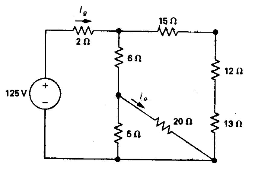 Leyes de Kirchhoff y método de mallas. Resolución de circuitos eléctricos (4/6)