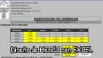 Excel para diseño de mezclas de concreto por el método de la ACI