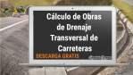 Cálculo de Obras de Drenaje Transversal de Carreteras