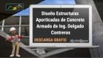 Diseño Estructuras Aporticadas de Concreto Armado de Ing. Delgado Contreras