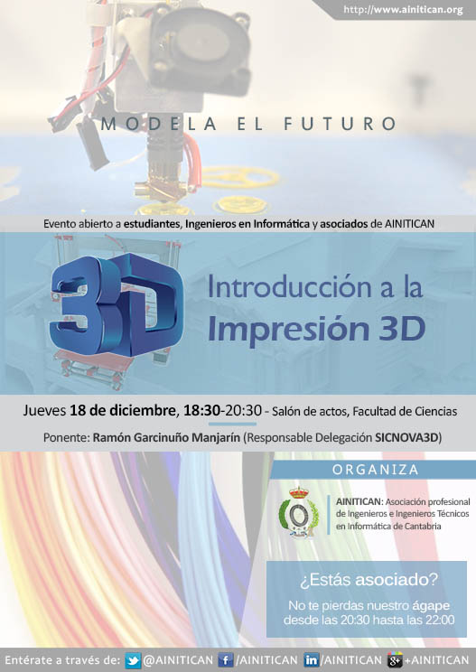 Cartel Charla Impresoras3D Web