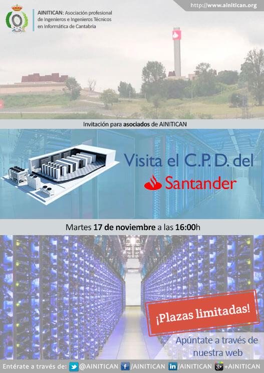 Cartel Visita CPD Solares