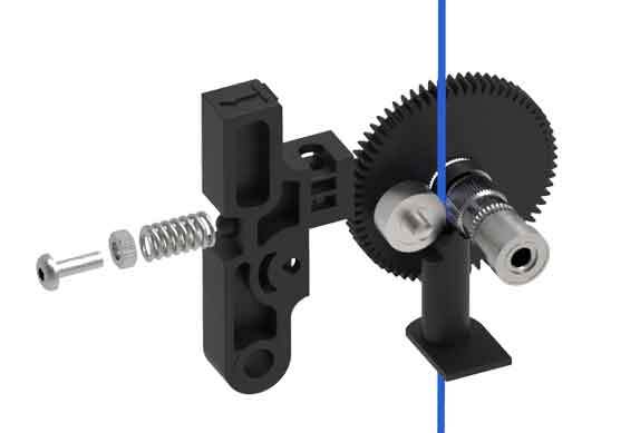 Pasos para calibrar un extrusor MK8.