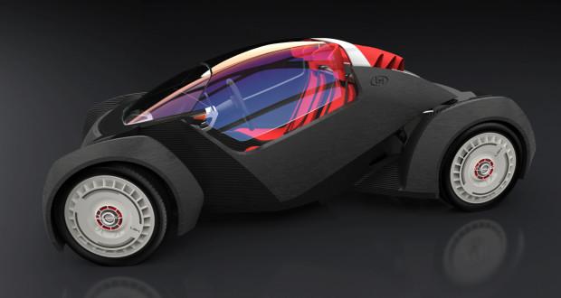Tecnología 3D en la automoción.