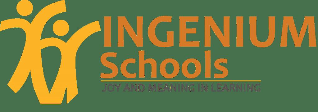 Logotipo apilado de las escuelas de Ingenium