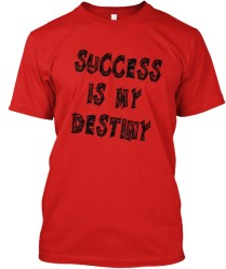 _t-shirt - Success is my Destiny