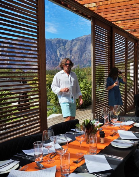 Birthday luncheon at Clouds Estate restaurant