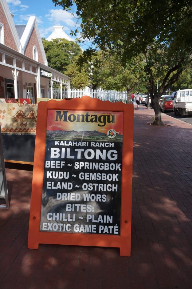 Biltong for sale in Franschhoek
