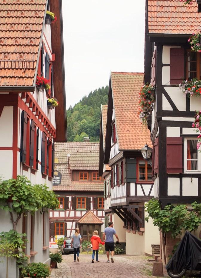 Schiltach half-timbered houses
