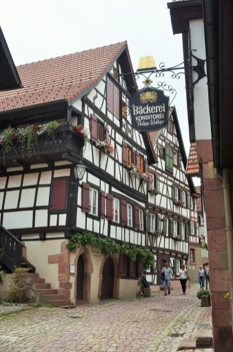 Schiltach half-timbered houses
