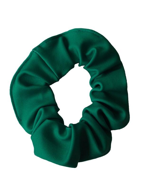 Haarwokkel Lycra donker groen