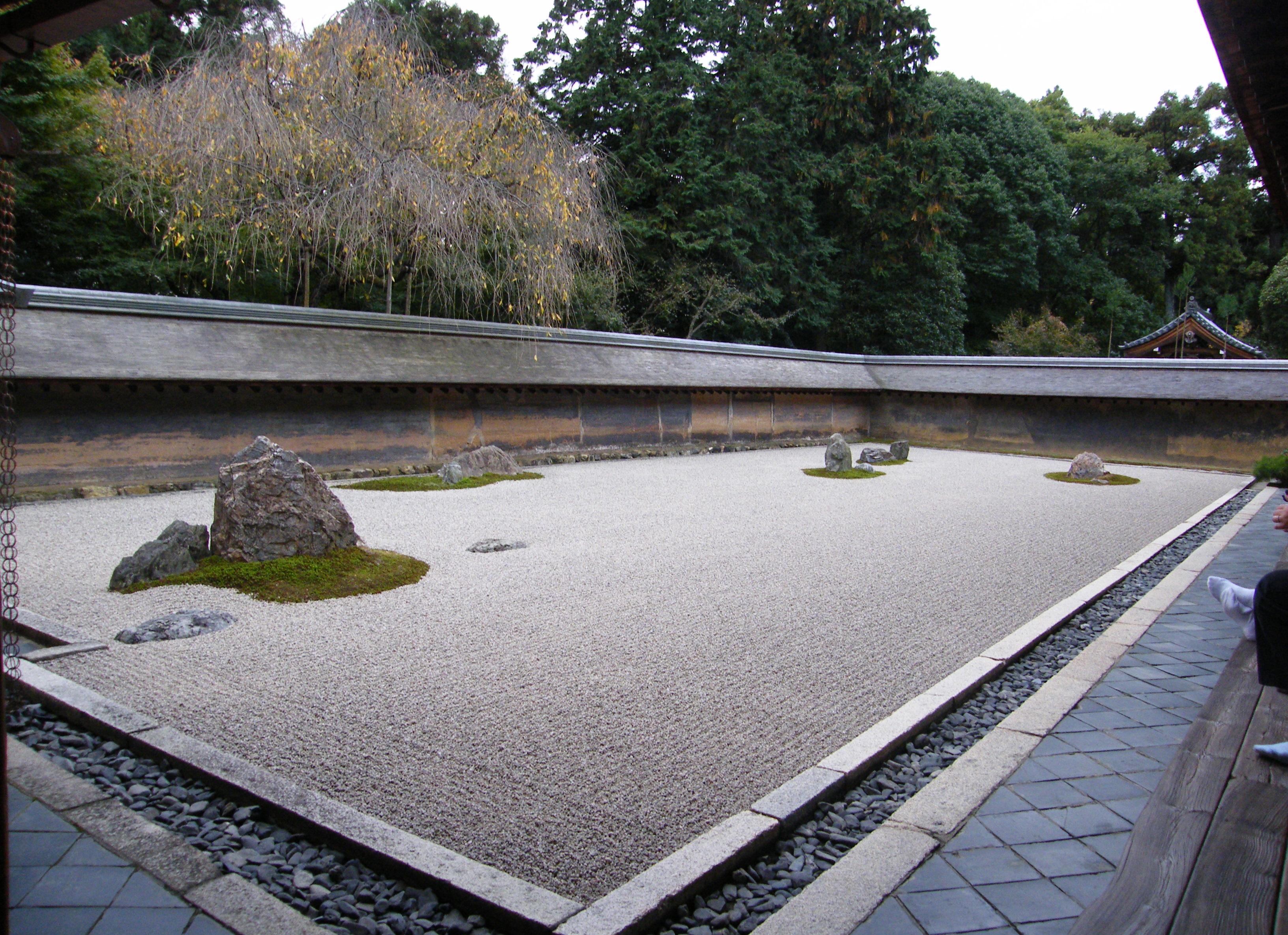 il giardino zen... quante pietre riuscite a vedere?