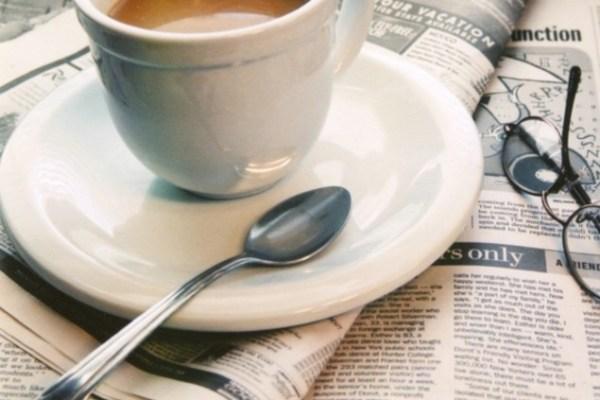 kahve gazete