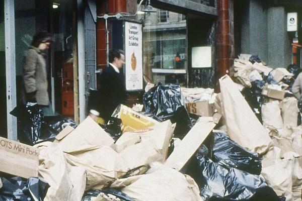 çöp Londra 1980ler 1980li yıllar metro