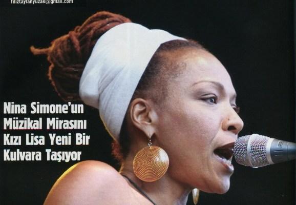 Nina Simone Londra konser dinleti albüm caz jazz