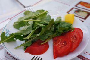 taze roka domates Kırçiçeği Pide restoran lokanta sebze salata