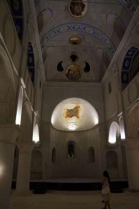 Çeşme merkez çarşı kilise sergi resim el sanatları takı