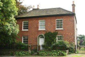 tuğla ev İngiliz evi İngiltere brick house red Büyük Britanya Birleşik Krallık müstakil ev