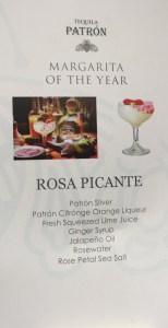 Rosa Picante margarita tequila cocktail