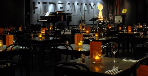 Hideaway jazz club