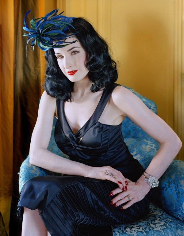 Dita Von Teese - Vogue (October 1, 2004) HQ