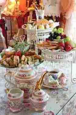 Tea time trays