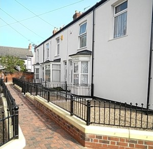 These terraces around Airlie Street, just off Boulevard, Hull have (almost) all had External Wall Insulation. Bizarrely, some owners declined the free offer so there's the odd gap in the terrace. Also some owners couldn't be traced, so they'll be disappointed when they return. Photo: Hull Daily Mail