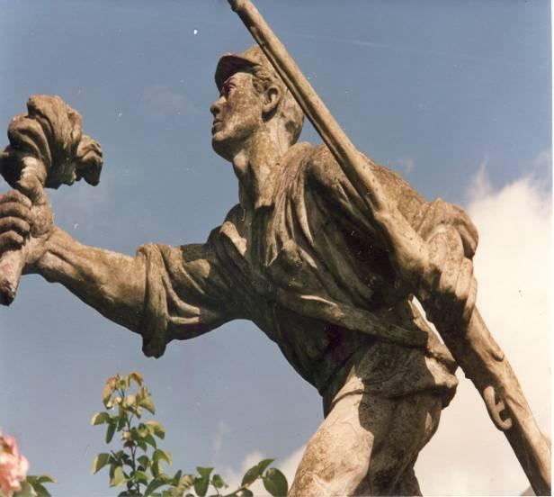 Fotografía del soldado Juan Santamaría