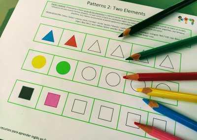 Series II: las formas (2 elementos)