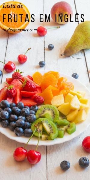 Lista de Frutas em Inglês | Inglês Gourmet
