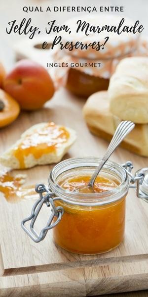 Qual a diferença entre Jelly, Jam, Marmalade e Preserves? | Inglês Gourmet