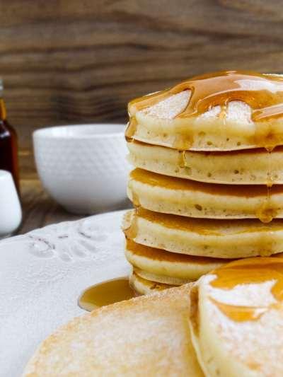 Receita de Pancakes   Inglês Gourmet