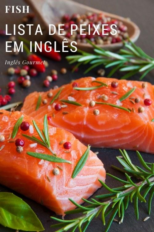Lista de Peixes em Inglês | Inglês Gourmet